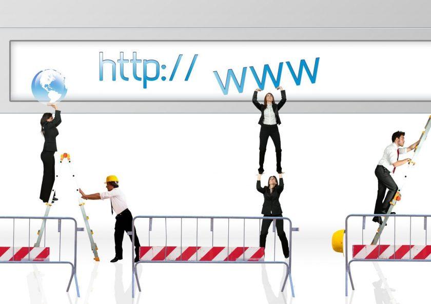 lanzamiento de un sitio web
